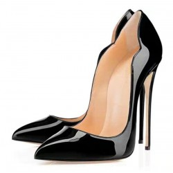 Sexy high heels - thin heel - patent leather
