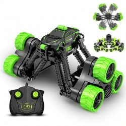 RC electric stunt car - with remote control / battery