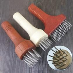 Needle hammer - stainless steel pestle - for pork belly skin