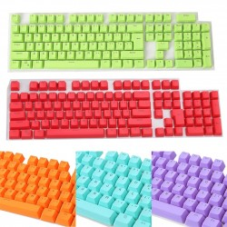 Keycaps - for mechanical keyboard - 106 keys - with backlight