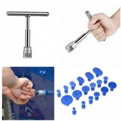 Slide hammer - car dent repair - puller - kit - with 18 pulling tabs