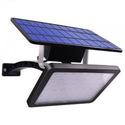 Outdoor garden wall light - waterproof solar lamp - adjustable - 48 LED