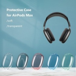 Transparent protective cover - for AirPods Max headphones - waterproof