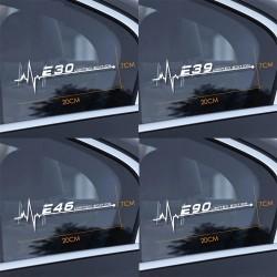 Car side window sticker - for BMW E28 / E93 - Limited Edition