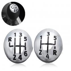 Gear knob cap cover - 5/6 speed - for Renault Clio - Twingo - Scenic - Megane