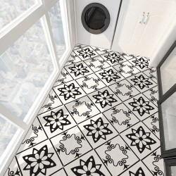 Modern self adhesive tiles - floor stickers - 30 * 30cm - 4 pieces