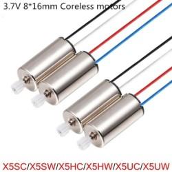 CW / CCW - motor - 3.7V - 8 * 16mm - for SYMA X5SC X5SW X5HC X5HW X5UC X5UW X9 X9S RC Drone