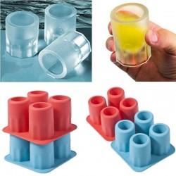Glaçons en forme de verre - plateau en silicone - moule
